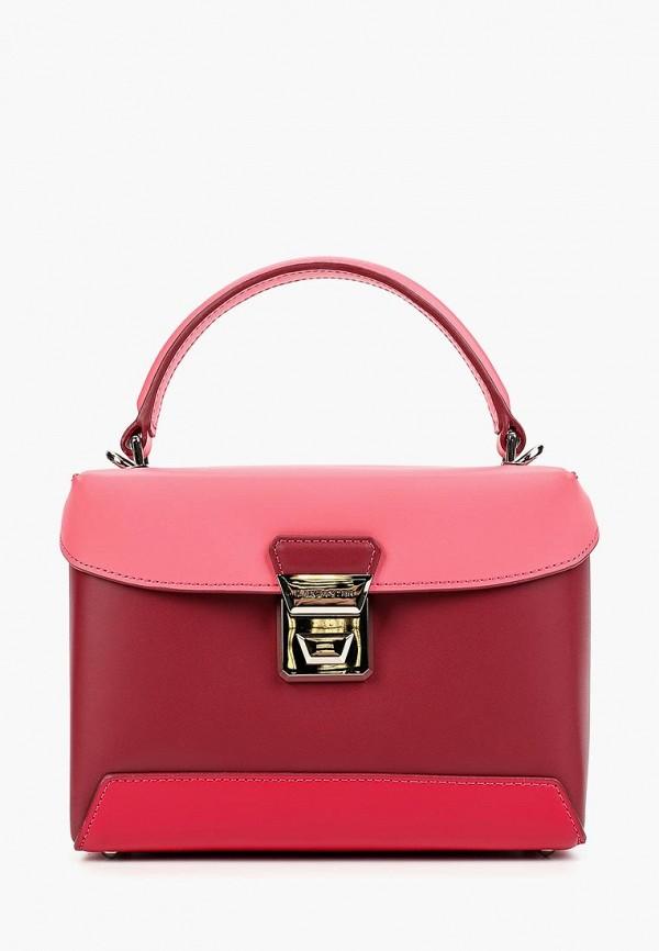 женская сумка lancaster, розовая