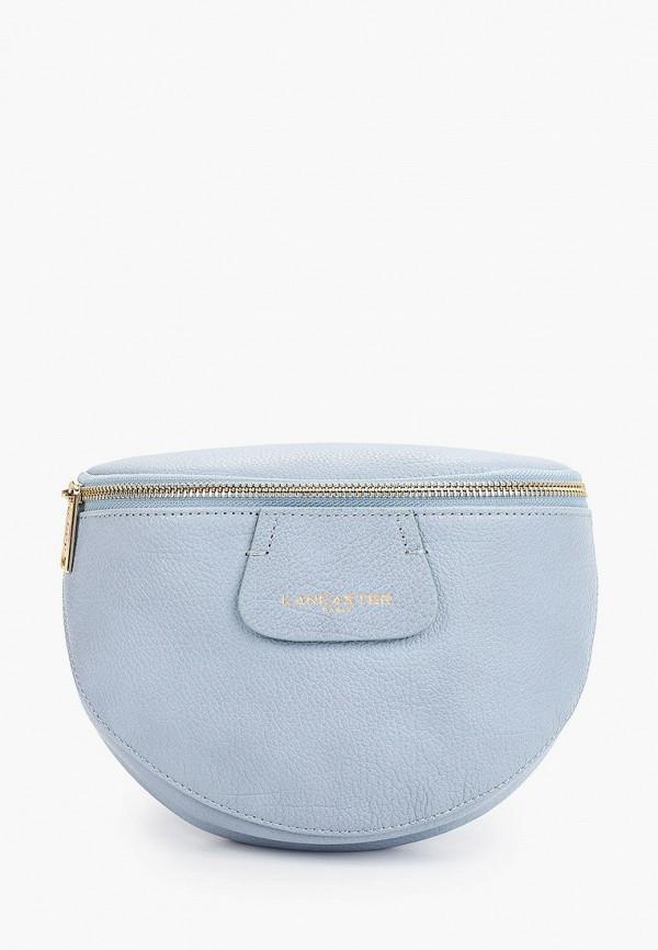 женская сумка lancaster, голубая