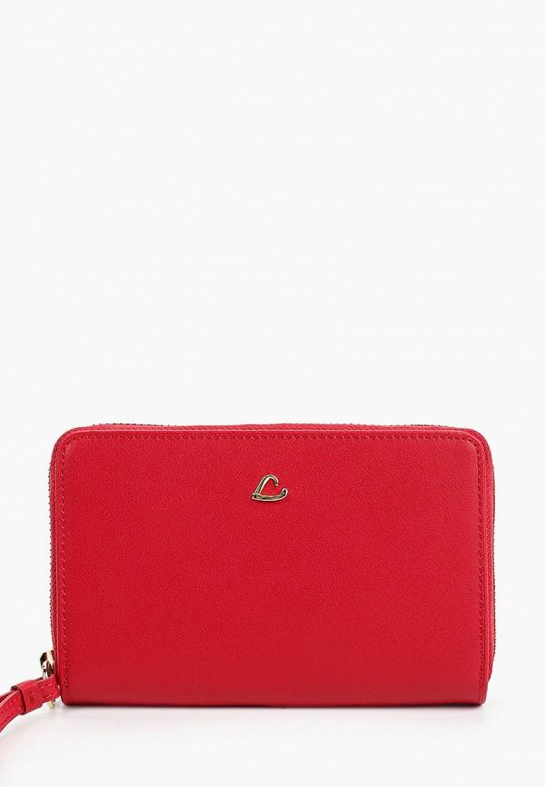 женский кошелёк lancaster, красный