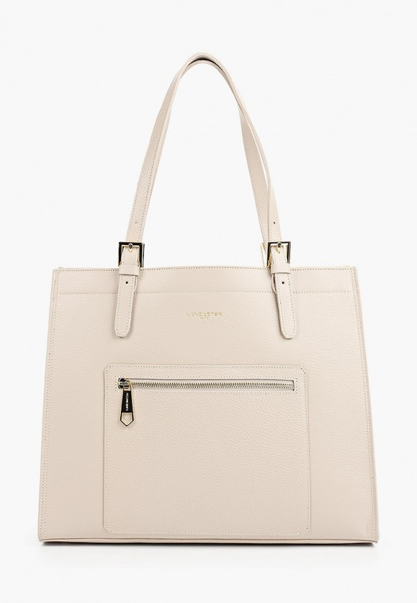 женская сумка lancaster, бежевая