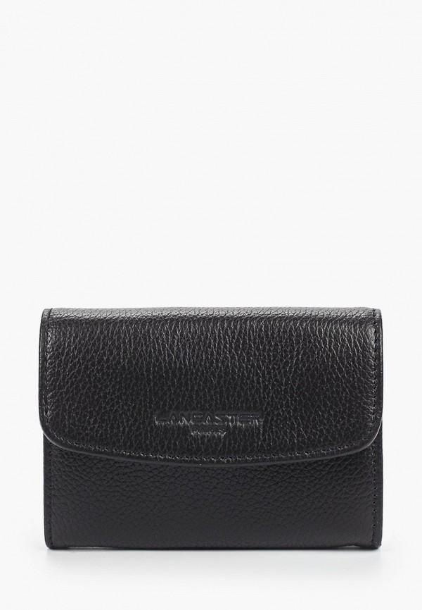 женский кошелёк lancaster, черный