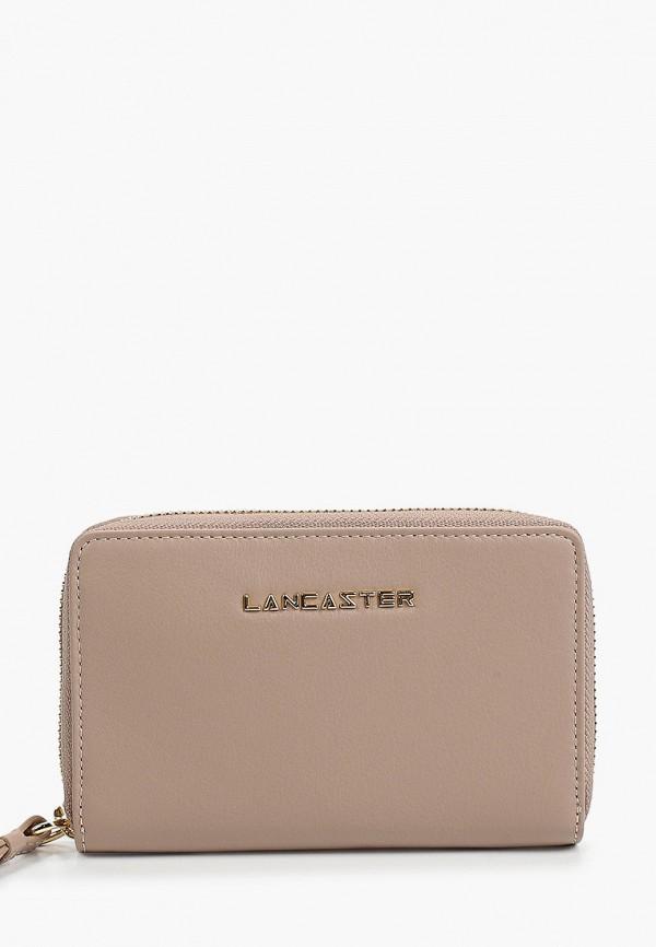 женский кошелёк lancaster, бежевый