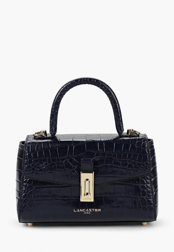 женская сумка lancaster, синяя