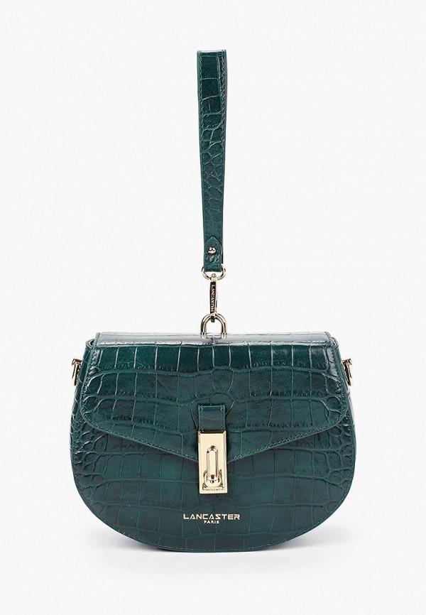 женская сумка lancaster, зеленая