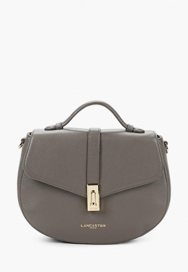 женская сумка lancaster, серая