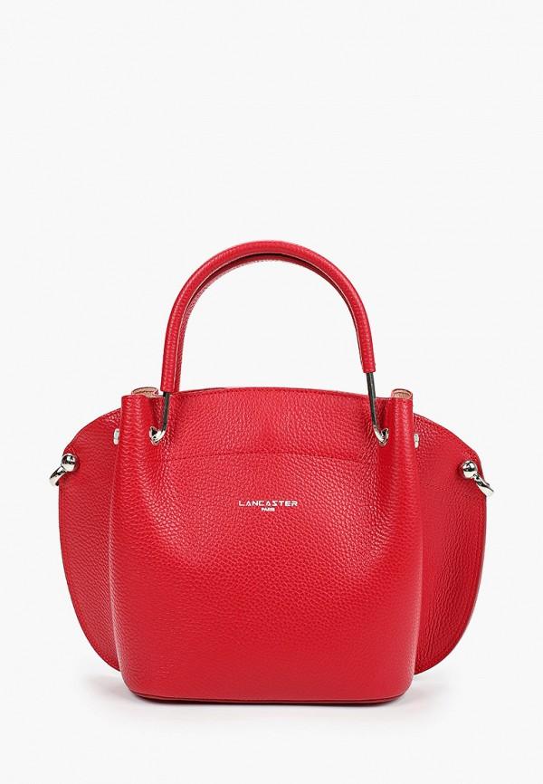 женская сумка lancaster, красная