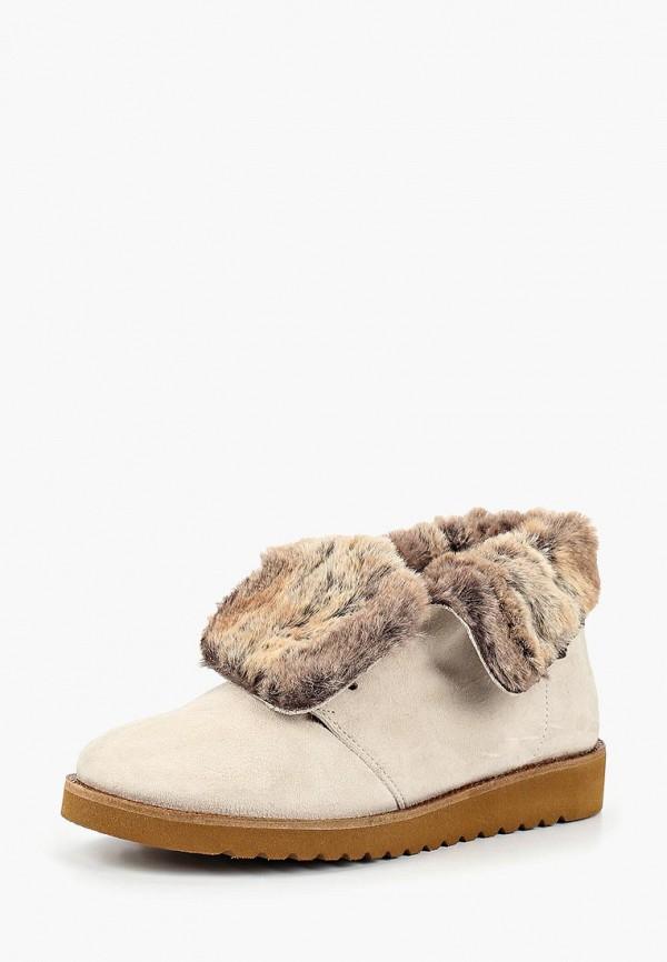 женские ботинки lamania, бежевые