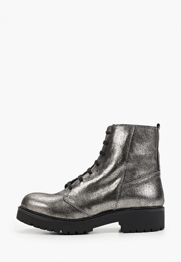 женские ботинки lamania, серебряные