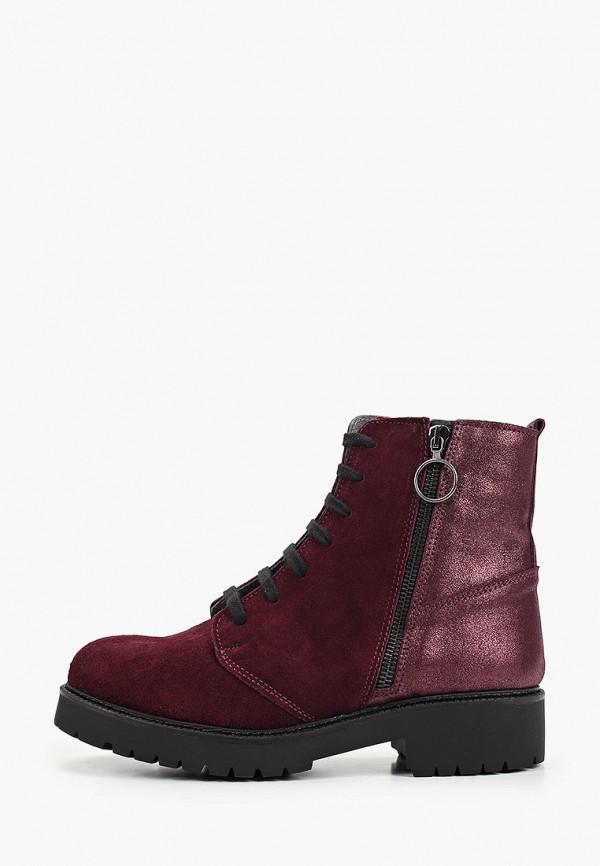 женские ботинки lamania, бордовые