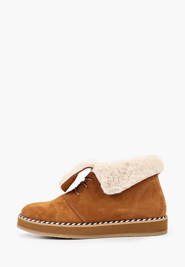 женские ботинки lamania, коричневые