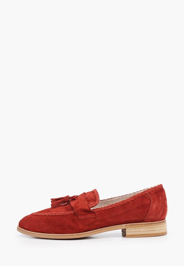 женские лоферы lamania, красные