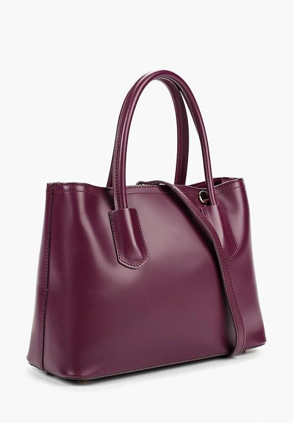 Фото 2 - Сумку Lamania фиолетового цвета