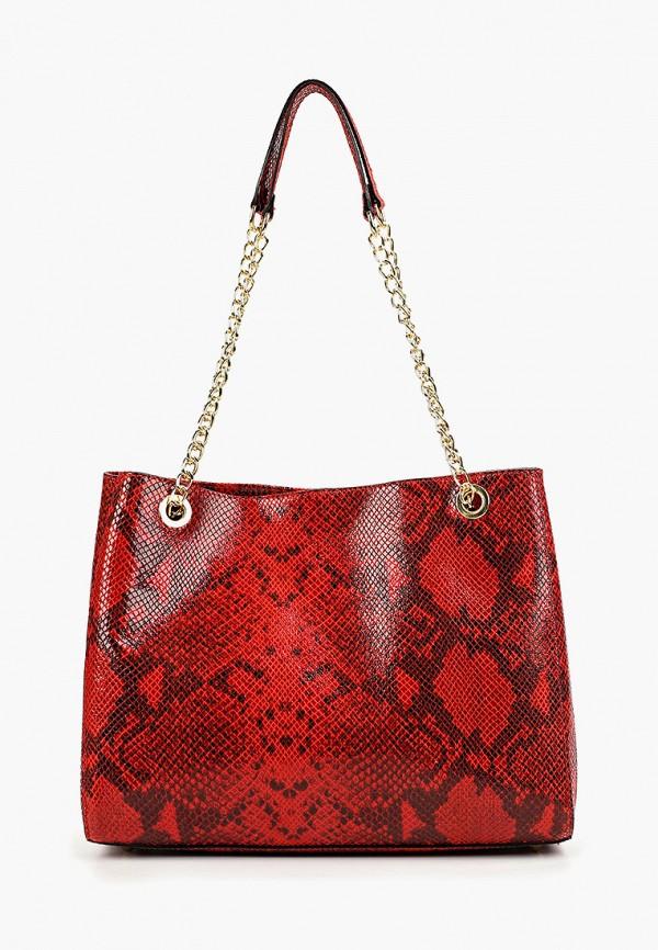 женская сумка lamania, красная