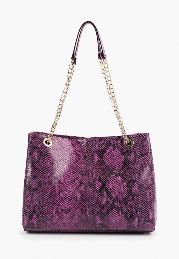 женская сумка lamania, фиолетовая