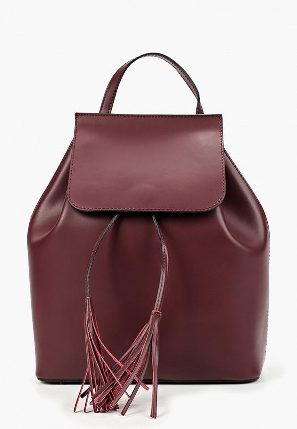 женский рюкзак lamania, бордовый