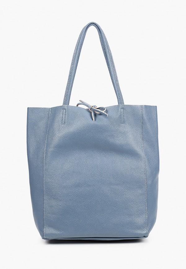женская сумка lamania, голубая