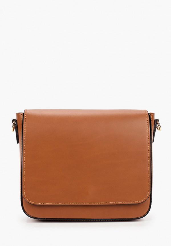 женская сумка lamania, коричневая