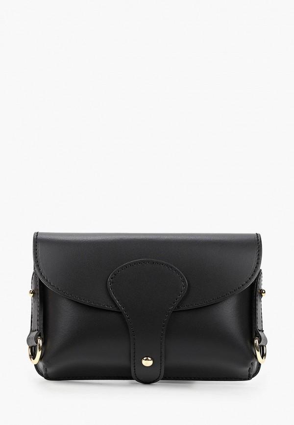 женская поясные сумка lamania, черная