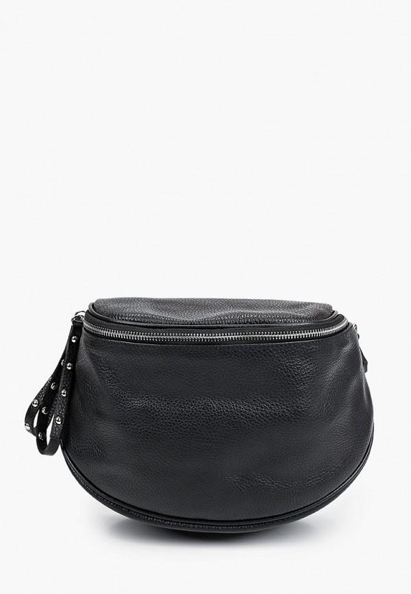 женская сумка через плечо lamania, черная