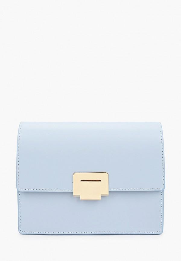 женская сумка с ручками lamania, голубая