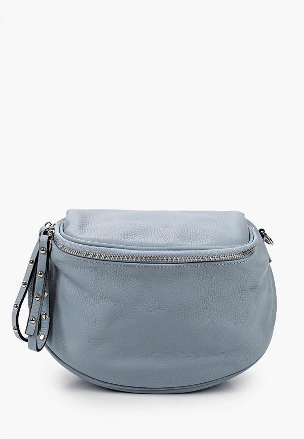 женская сумка через плечо lamania, голубая
