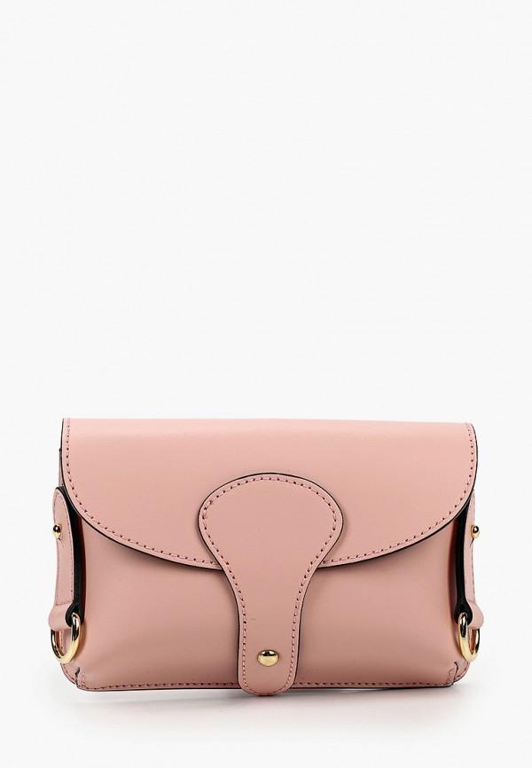 женская сумка lamania, розовая