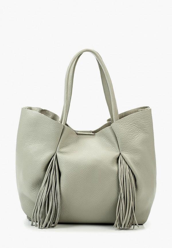 мужская сумка lamania, серая