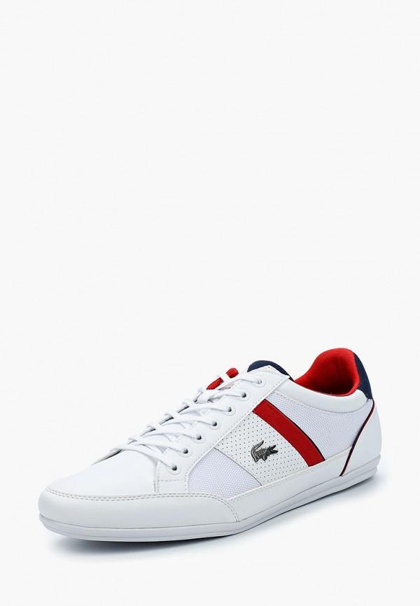 Фото - Мужские кроссовки Lacoste белого цвета