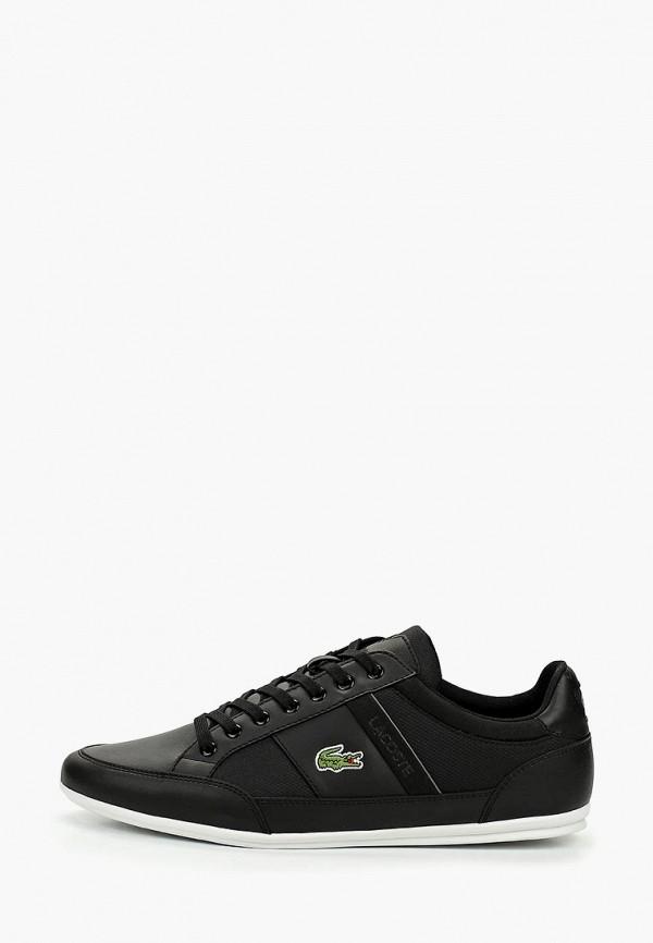 Фото - мужские кроссовки Lacoste черного цвета