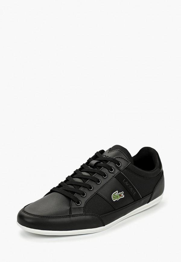 Фото 2 - мужские кроссовки Lacoste черного цвета