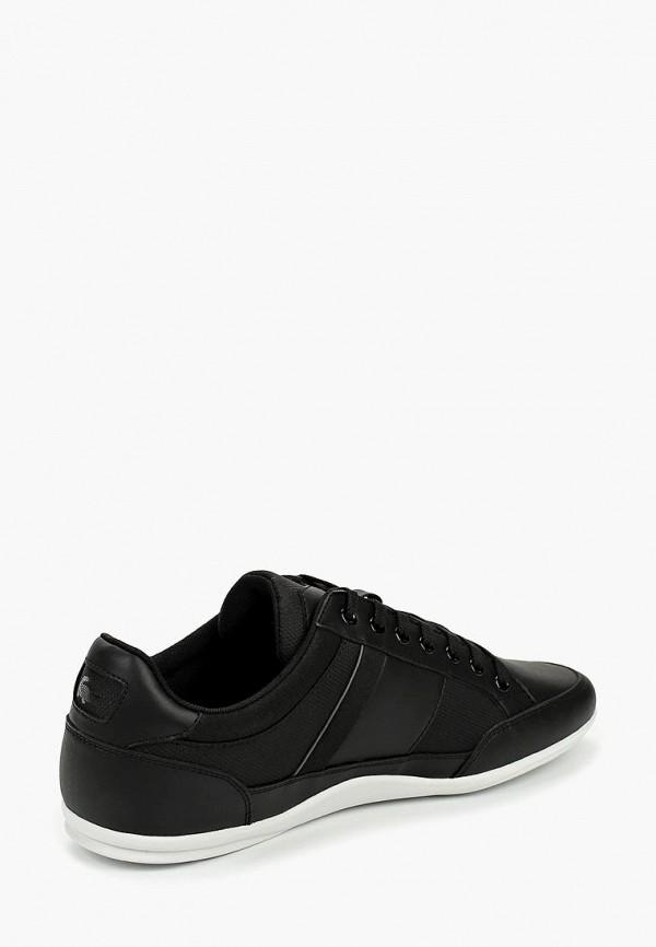 Фото 3 - мужские кроссовки Lacoste черного цвета