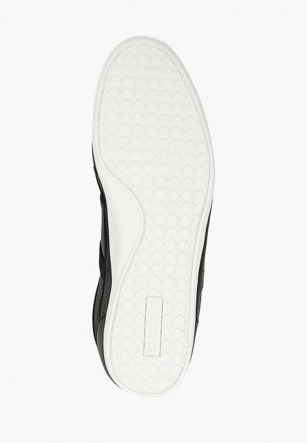 Фото 5 - мужские кроссовки Lacoste черного цвета