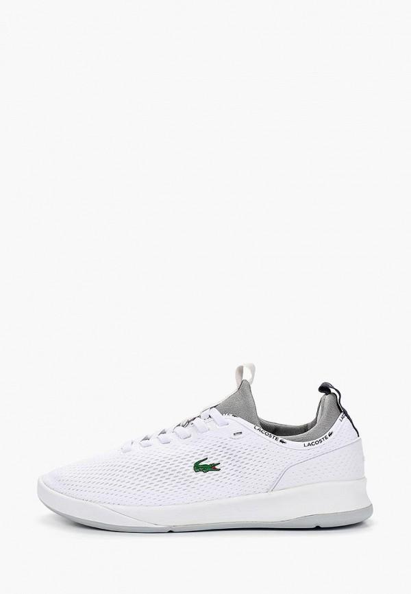 мужские кроссовки lacoste, белые