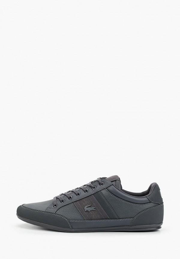 мужские кроссовки lacoste, серые