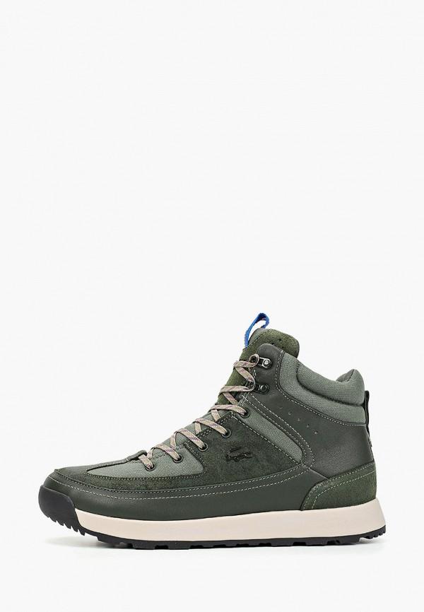 мужские ботинки lacoste, хаки