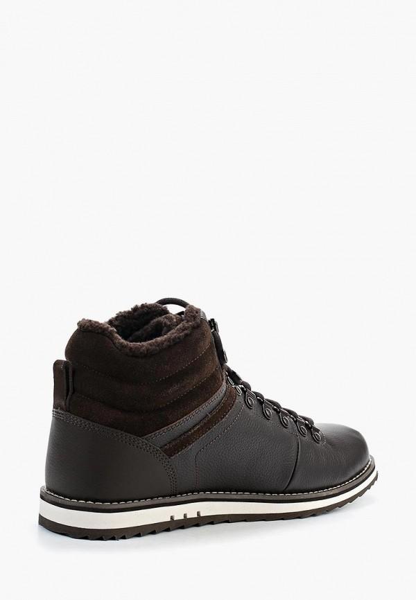 Фото 2 - мужские ботинки и полуботинки Lacoste коричневого цвета