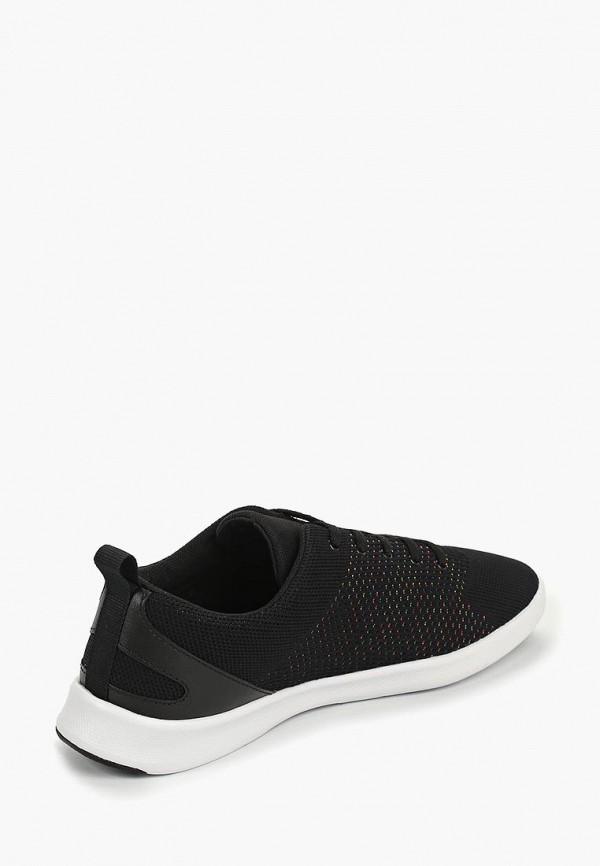 Фото 3 - женские кроссовки Lacoste черного цвета