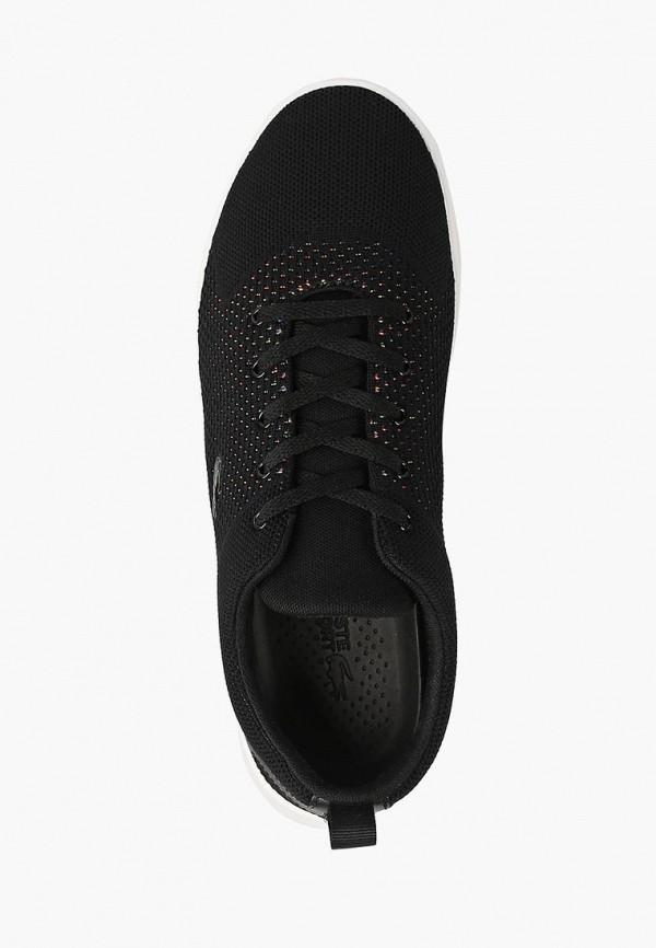 Фото 4 - женские кроссовки Lacoste черного цвета