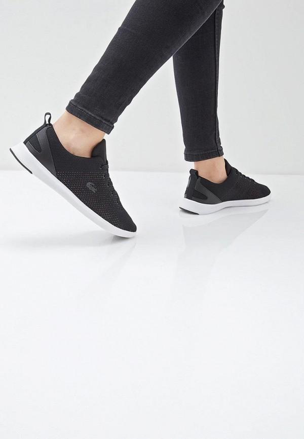 Фото 6 - женские кроссовки Lacoste черного цвета
