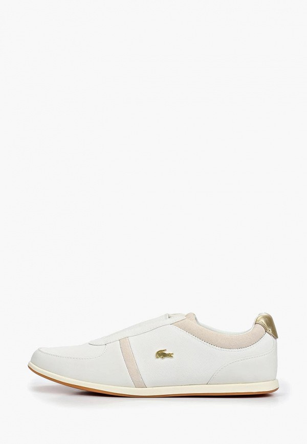 женские кроссовки lacoste, белые
