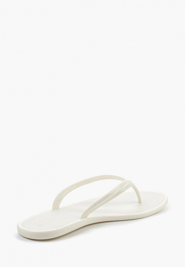Фото 2 - Сланцы Lacoste белого цвета