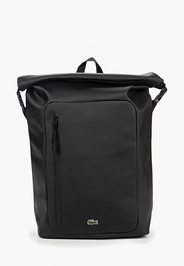 Фото - мужской рюкзак Lacoste черного цвета