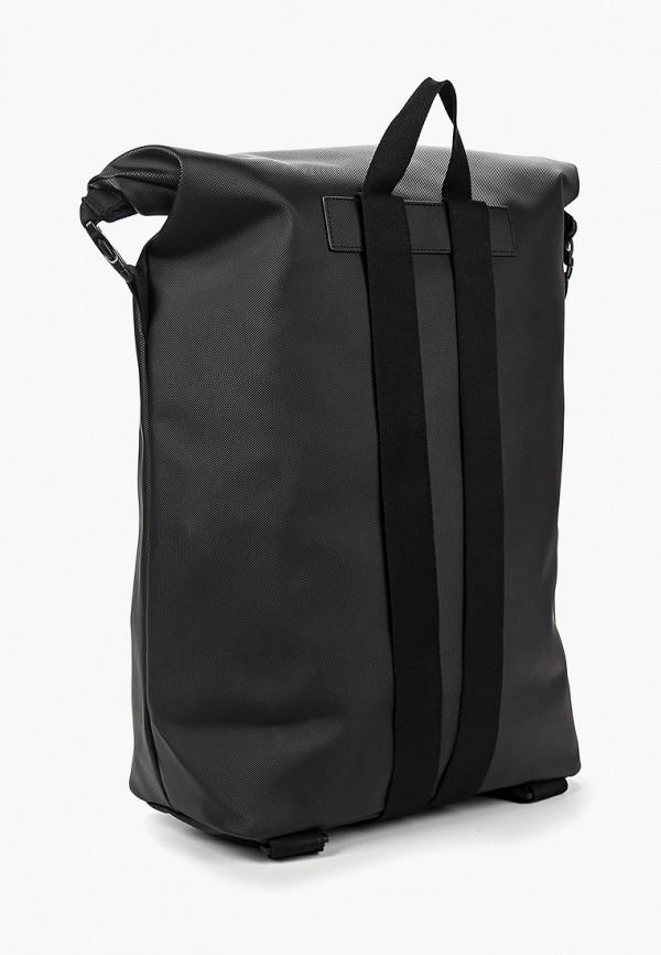Фото 2 - мужской рюкзак Lacoste черного цвета