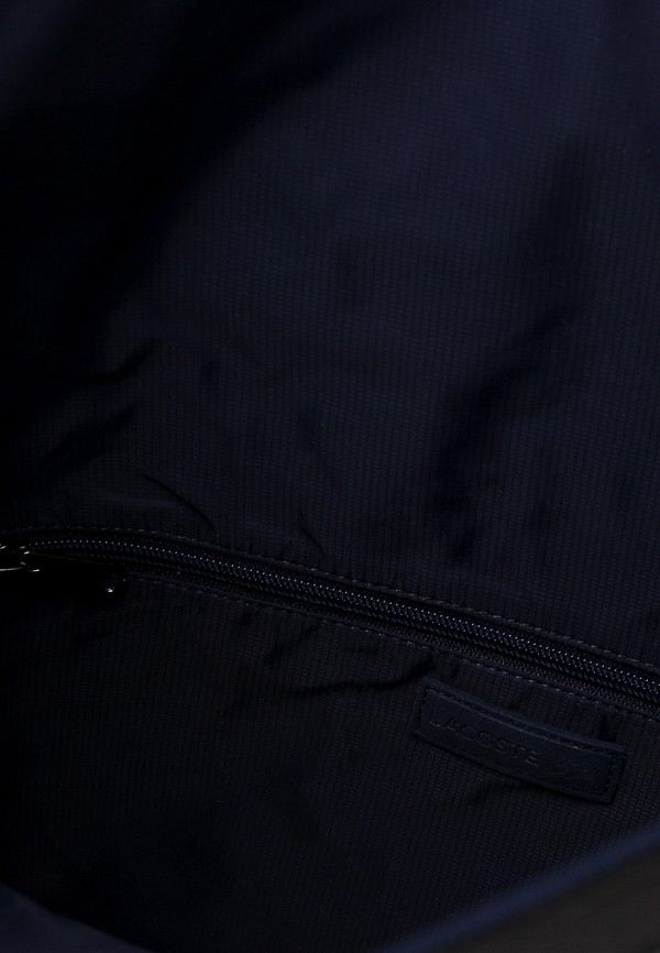 Фото 3 - мужской рюкзак Lacoste черного цвета