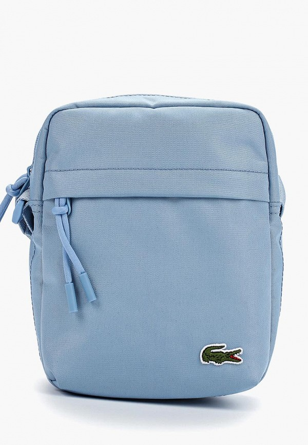 мужская сумка lacoste, голубая