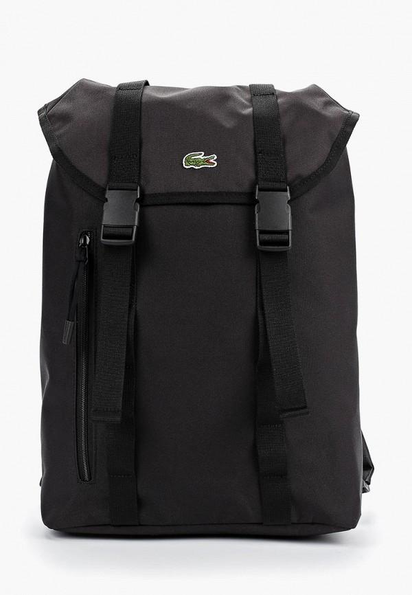 мужской рюкзак lacoste, черный