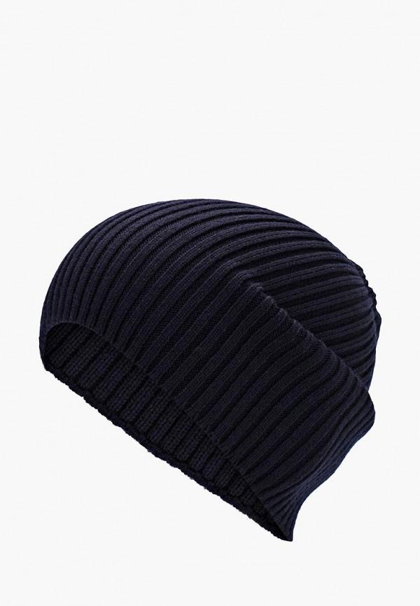 Фото - мужскую шапку Lacoste синего цвета