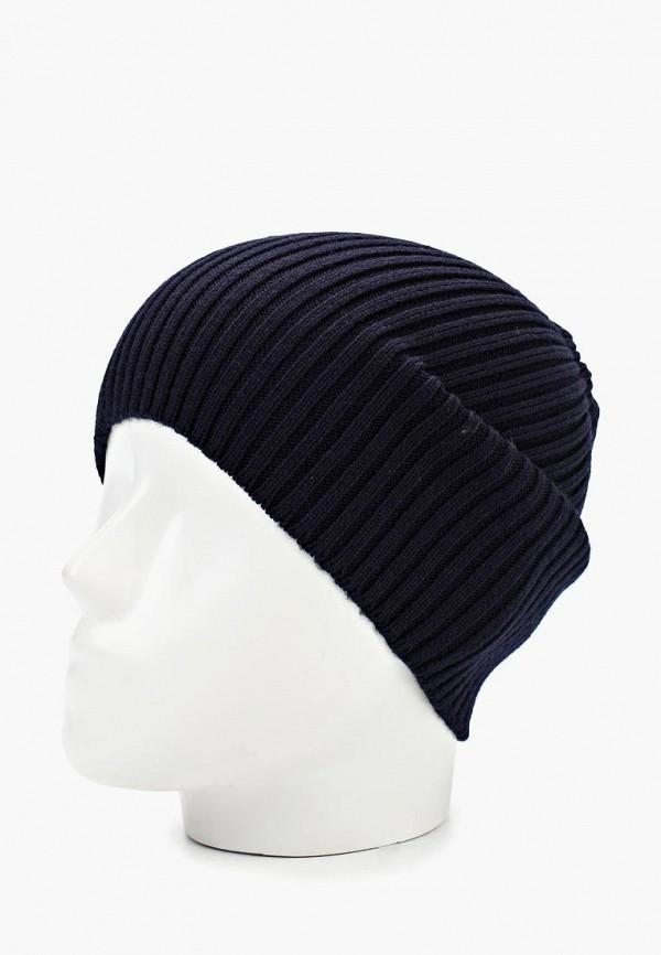Фото 2 - мужскую шапку Lacoste синего цвета