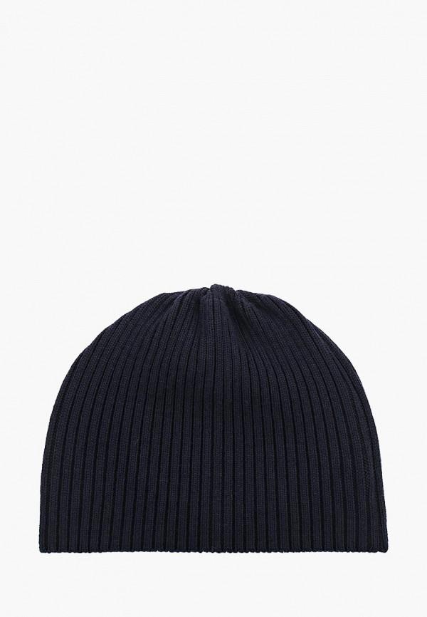 Фото 7 - мужскую шапку Lacoste синего цвета