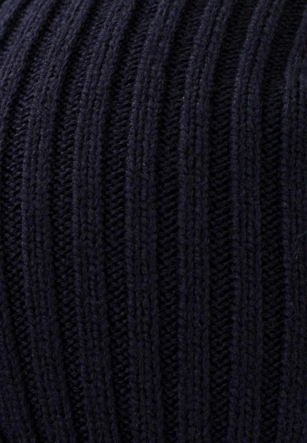 Фото 4 - мужскую шапку Lacoste синего цвета